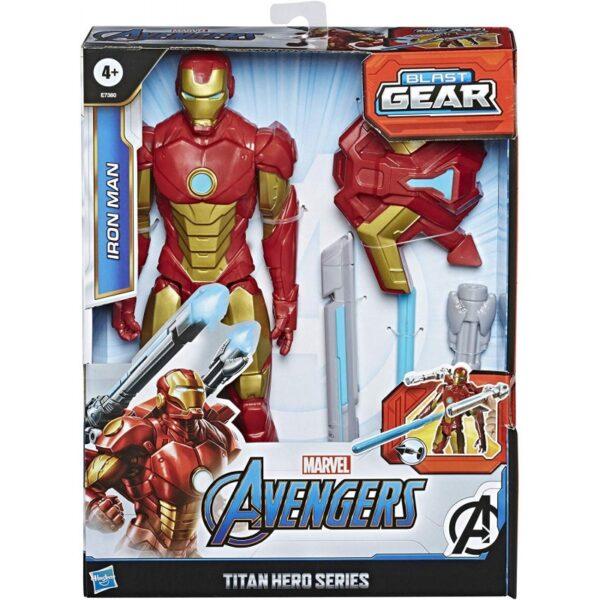 Marvel Avengers Titan Hero Innovation Iron Man 30 Cm E7380 Avengers Αγόρι 4-5 ετών, 5-7 ετών, 7-12 ετών Avengers