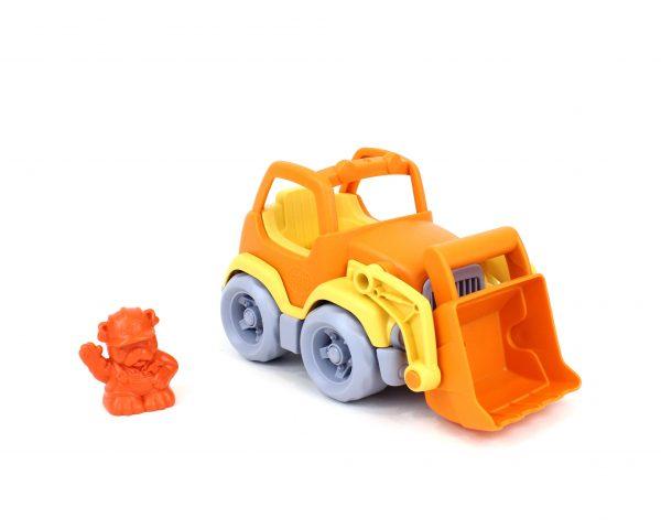 Green Toys: Εκσκαφέας Φορτηγό Πορτοκαλί/Κίτρινο CSCO-1106 2-3 ετών, 3-4 ετών Αγόρι Green Toys