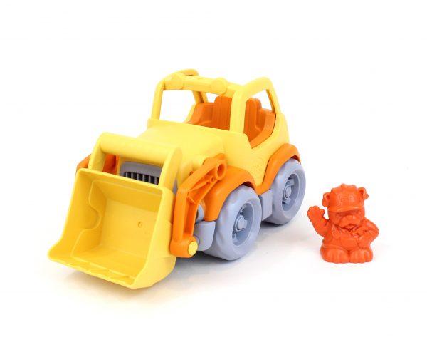 Green Toys: Εκσκαφέας Φορτηγό Πορτοκαλί/Κίτρινο CSCO-1106 Green Toys 2-3 ετών, 3-4 ετών Αγόρι