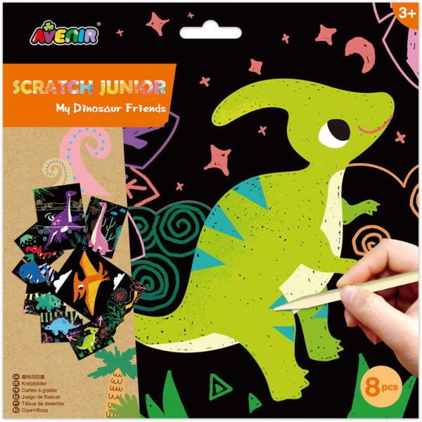 Avenir Scratch Junior Dinosaur Avenir Κορίτσι 3-4 ετών, 4-5 ετών