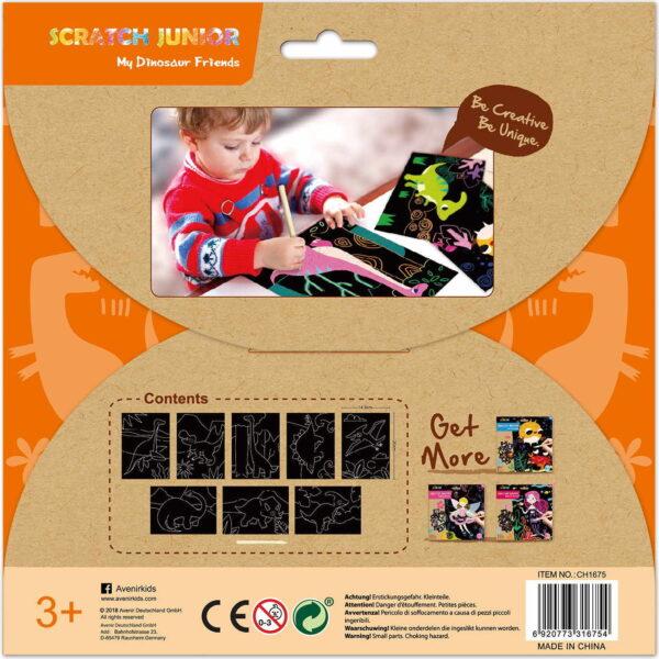 Avenir Scratch Junior Dinosaur  Κορίτσι 3-4 ετών, 4-5 ετών Avenir