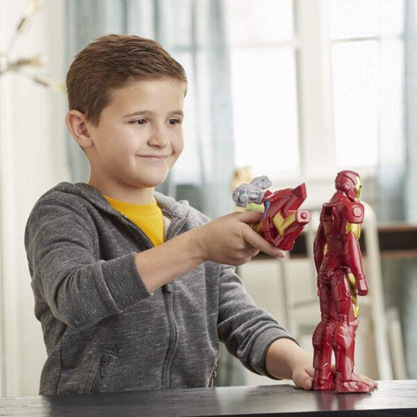 Avengers Avengers Αγόρι 4-5 ετών, 5-7 ετών, 7-12 ετών Marvel Avengers Titan Hero Innovation Iron Man 30 Cm E7380
