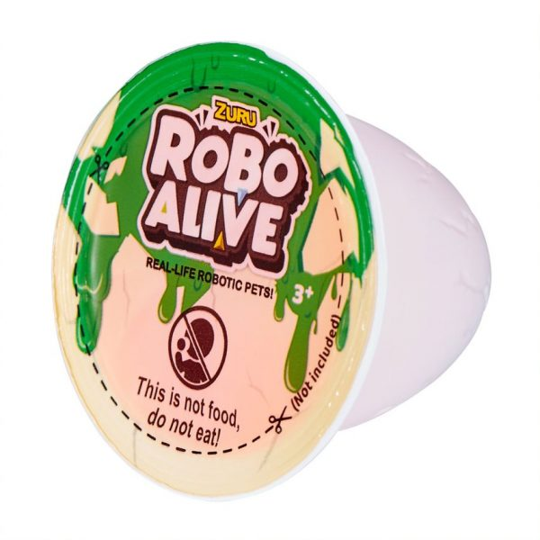 Robo alive Δεινόσαυρος Αυγό Slime 1863-27127 3-4 ετών, 4-5 ετών Αγόρι ROBO ALIVE
