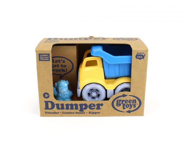 Green Toys: Ανατρεπόμενο Φορτηγό Μπλε/Κίτρινο CDPB-1262 Green Toys Αγόρι 2-3 ετών, 3-4 ετών