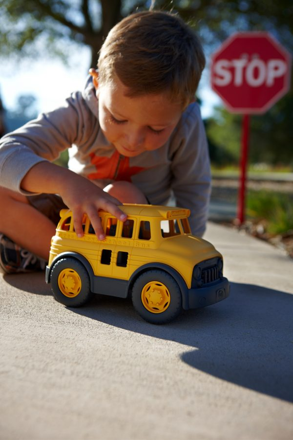 Green Toys: Σχολικό Λεωφορείο SCHY-1009 Green Toys 12-24 μηνών, 2-3 ετών Αγόρι, Κορίτσι