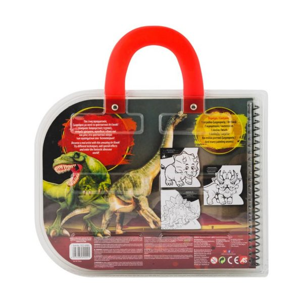 Art Greco Σετ Ζωγραφικής art book dinosaurs & monster trucks Σχέδια 1023-69002 Art Greco  Αγόρι 3-4 ετών, 4-5 ετών