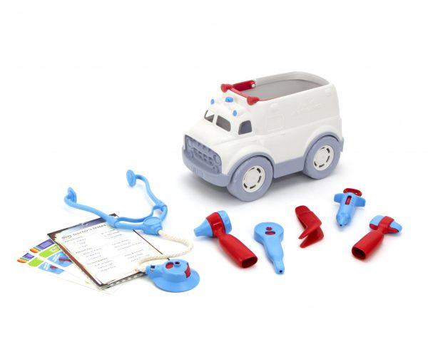 Green Toys  Green Toys: Ασθενοφόρο και Σετ Γιατρού AMDK-1313 Αγόρι, Κορίτσι 2-3 ετών, 3-4 ετών