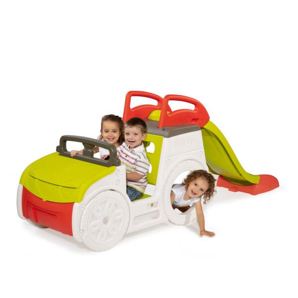 Smoby Αυτοκίνητο Τσουλήθρα Περιπέτεια SMOBY Αγόρι, Κορίτσι 2-3 ετών, 3-4 ετών, 4-5 ετών