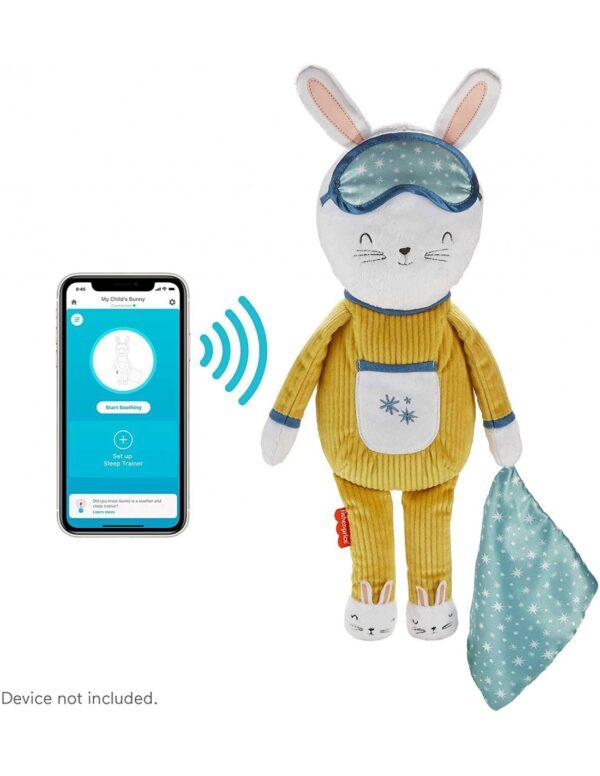 Fisher-Price Hoppy Dreams Κουνελάκι Όνειρα Γλυκά Με Smart Connect Τεχνολογία GMN58 12-24 μηνών, 2-3 ετών Αγόρι, Κορίτσι Fisher-Price