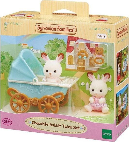 Sylvanian FamiliesΣετ Δίδυμα Μωρά Chocolate Rabbit Twins  5432 Sylvanian Families Κορίτσι 3-4 ετών, 4-5 ετών, 5-7 ετών Sylvanian Families
