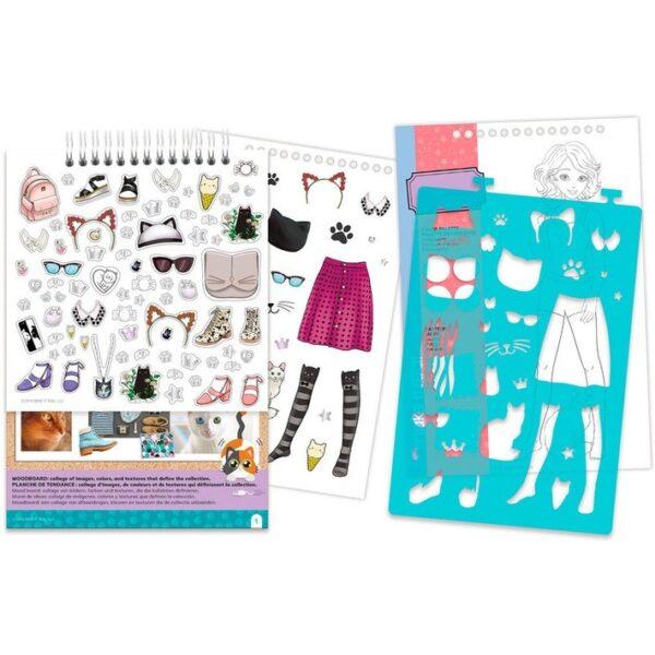 Make it Real Fashion Design Sketchbook 3204  Κορίτσι 3-4 ετών, 4-5 ετών, 5-7 ετών Make it Real