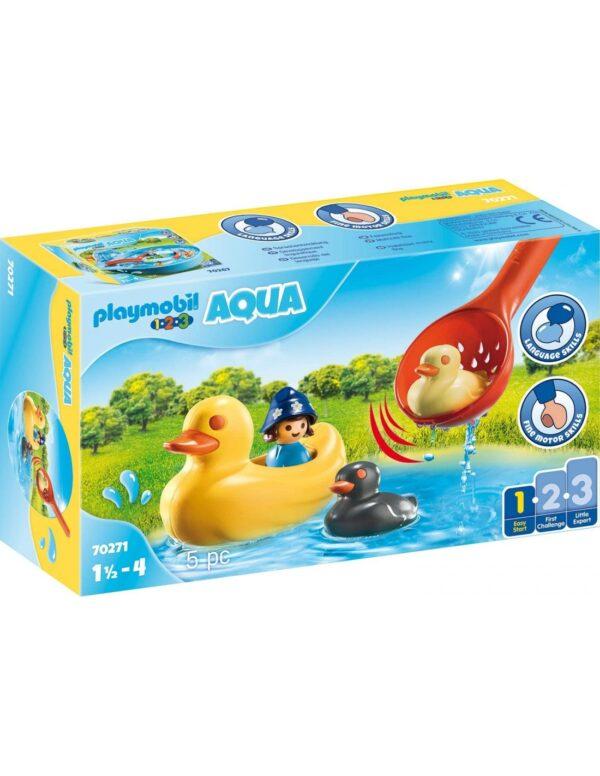 Playmobil 1.2.3.Acqua Παπάκια Και Κοριτσάκι 70271 Playmobil, Playmobil 1.2.3 Κορίτσι 12-24 μηνών, 2-3 ετών, 3-4 ετών
