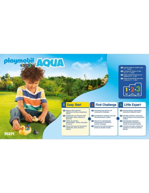 Playmobil 1.2.3.Acqua Παπάκια Και Κοριτσάκι 70271  Κορίτσι 12-24 μηνών, 2-3 ετών, 3-4 ετών Playmobil, Playmobil 1.2.3