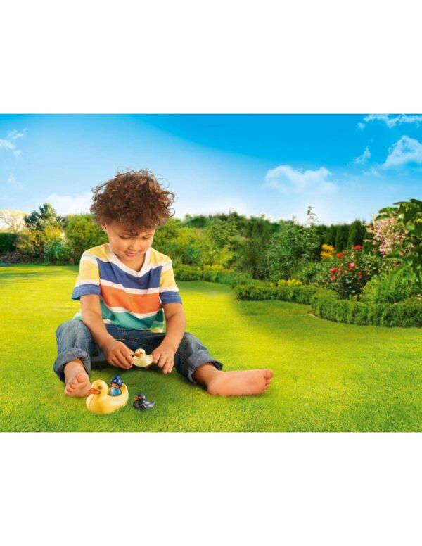 Playmobil, Playmobil 1.2.3  Playmobil 1.2.3.Acqua Παπάκια Και Κοριτσάκι 70271 Κορίτσι 12-24 μηνών, 2-3 ετών, 3-4 ετών