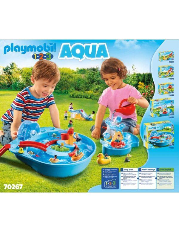Playmobil 1.2.3 Αcqua Μεγάλο Aqua Park Με Νερόμυλο 70267  Αγόρι, Κορίτσι 12-24 μηνών, 2-3 ετών, 3-4 ετών Playmobil, Playmobil 1.2.3