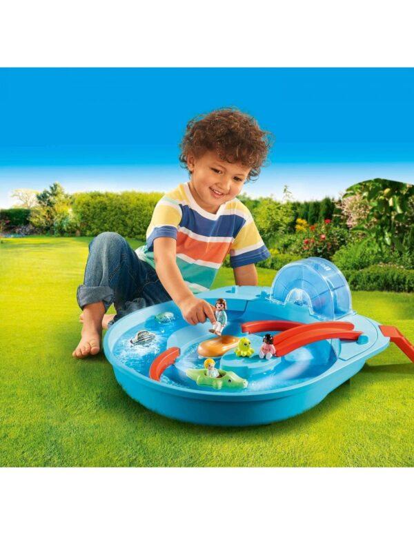 Playmobil, Playmobil 1.2.3  Playmobil 1.2.3 Αcqua Μεγάλο Aqua Park Με Νερόμυλο 70267 Αγόρι, Κορίτσι 12-24 μηνών, 2-3 ετών, 3-4 ετών