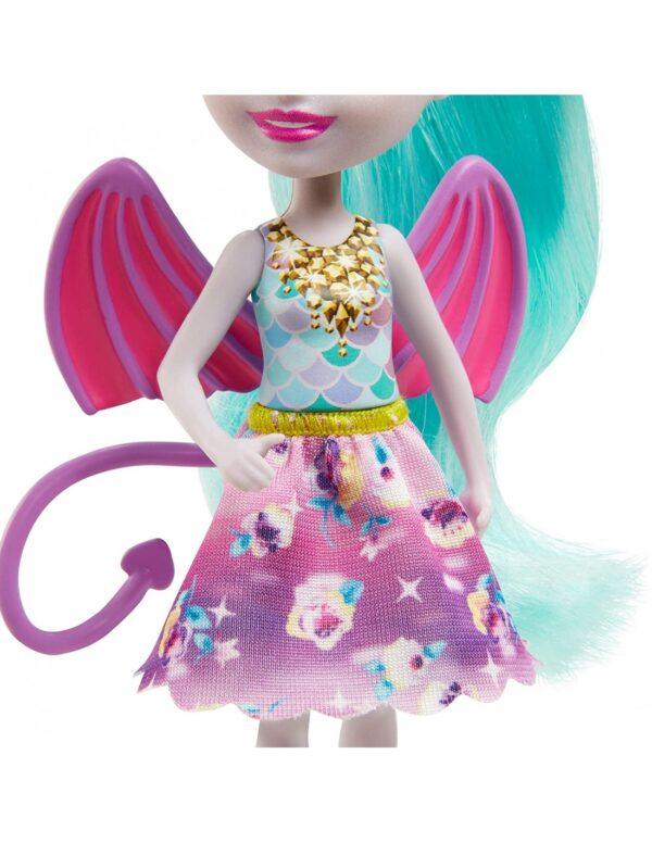Enchantimals Royals - Κούκλα Και Οικογένεια Δράκοι GYJ09 Κορίτσι 4-5 ετών, 5-7 ετών Enchantimals Enchantimals
