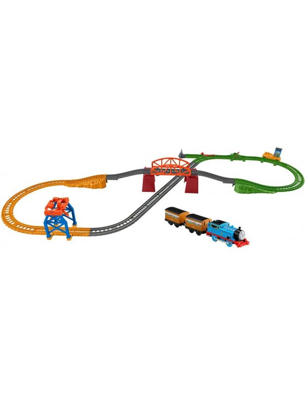 Fisher-Price Thomas And Friends 3-In-1 Package Pickup Διαδρομές GPD88 Fisher-Price Αγόρι, Κορίτσι 3-4 ετών, 4-5 ετών