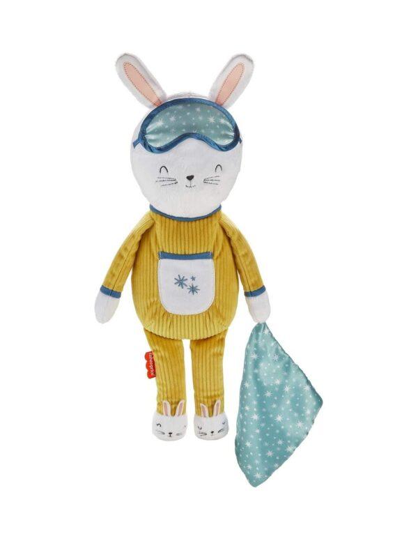 Fisher-Price Hoppy Dreams Κουνελάκι Όνειρα Γλυκά Με Smart Connect Τεχνολογία GMN58 Fisher-Price Αγόρι, Κορίτσι 12-24 μηνών, 2-3 ετών