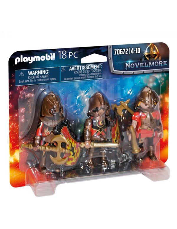 Playmobil Novelmore Ιππότες Του Burnham 70672 Playmobil, Playmobil Novelmore Αγόρι 4-5 ετών, 5-7 ετών, 7-12 ετών