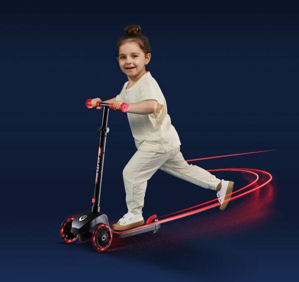 QPlay Future Scooter Πατίνι Κόκκινο 01-1212056-01  Αγόρι, Κορίτσι 3-4 ετών, 4-5 ετών Q Play