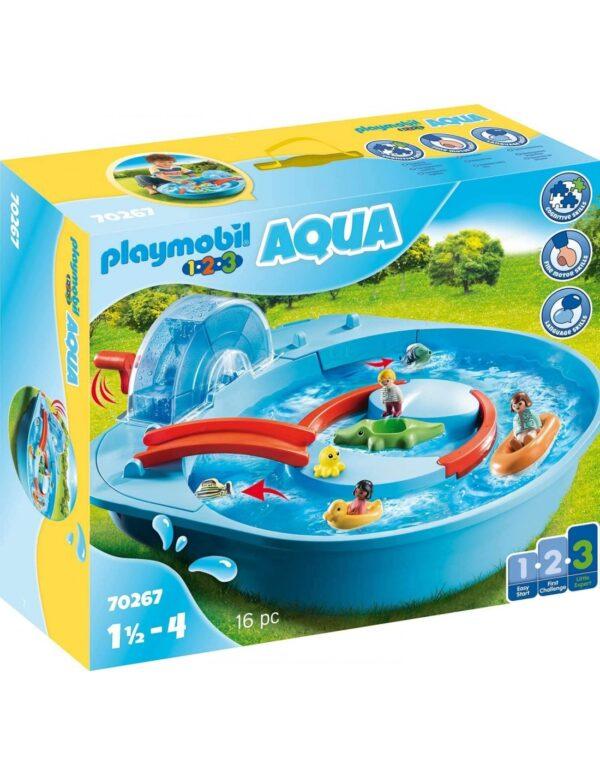 Playmobil 1.2.3 Αcqua Μεγάλο Aqua Park Με Νερόμυλο 70267 Playmobil, Playmobil 1.2.3 Αγόρι, Κορίτσι 12-24 μηνών, 2-3 ετών, 3-4 ετών