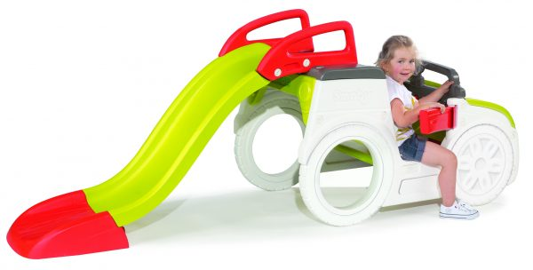 Smoby Αυτοκίνητο Τσουλήθρα Περιπέτεια  Αγόρι, Κορίτσι 2-3 ετών, 3-4 ετών, 4-5 ετών SMOBY