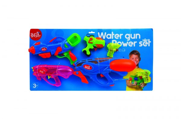 Sun & Sport Σετ 6 Νεροπίστολα RDF50016 Sun & Sport Αγόρι, Κορίτσι 3-4 ετών, 4-5 ετών, 5-7 ετών