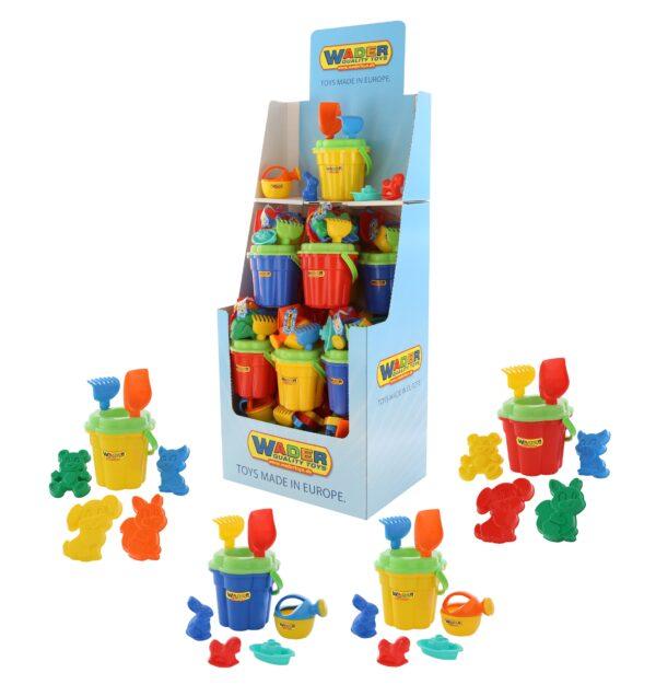 Zita Toys Κουβαδάκι Κάστρο με Φτυαράκια & Ποτιστήρι  2149841 Zita Toys Αγόρι, Κορίτσι 3-4 ετών, 4-5 ετών, 5-7 ετών