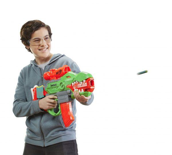 Nerf DinoSquad Rex-Rampage F0807  Αγόρι 12 ετών +, 7-12 ετών NERF