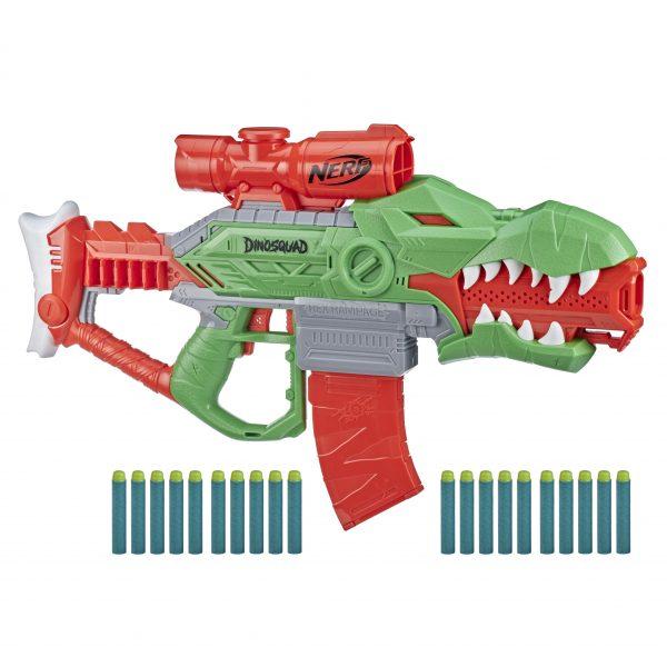 Nerf DinoSquad Rex-Rampage F0807 NERF Αγόρι 12 ετών +, 7-12 ετών
