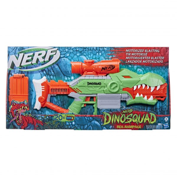 NERF  Nerf DinoSquad Rex-Rampage F0807 Αγόρι 12 ετών +, 7-12 ετών