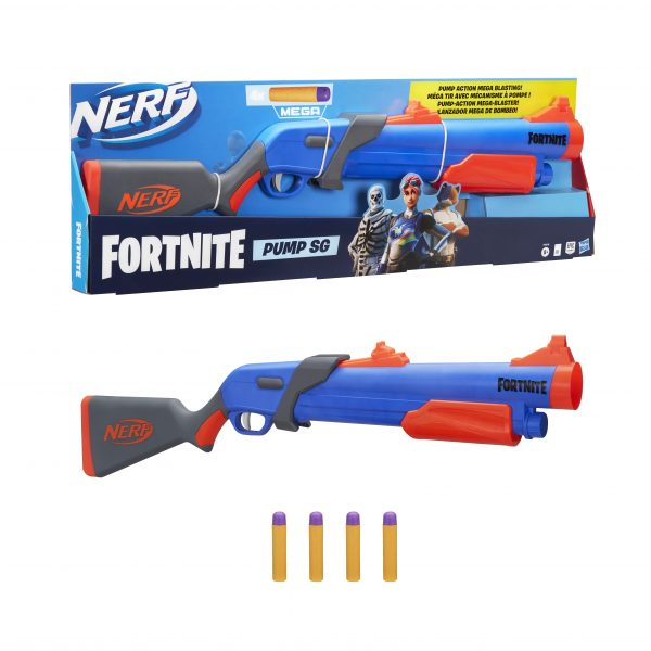 Nerf Fortnite Pumb Sg  F0318 NERF Αγόρι 12 ετών +, 7-12 ετών Fortnite