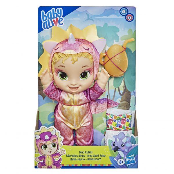 Baby Alive Dino Cuties F0933 BABY ALIVE Κορίτσι 3-4 ετών, 4-5 ετών Baby Alive