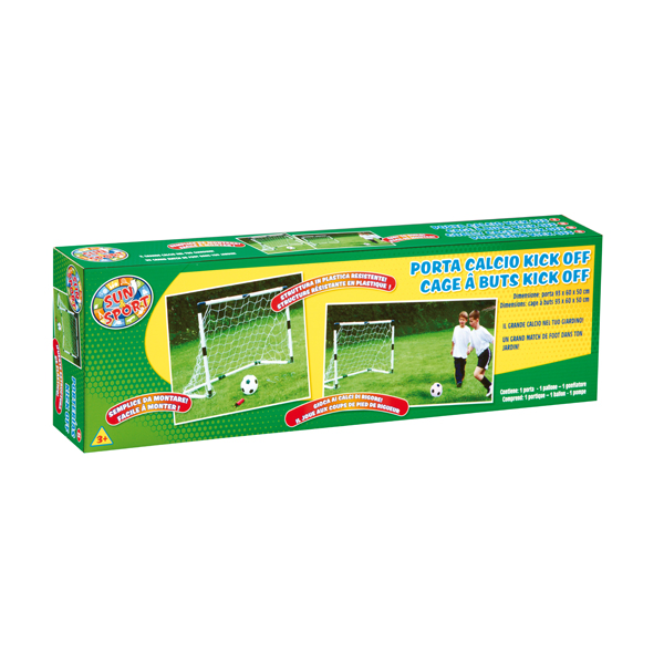 Sun & Sport Τέρμα Ποδοσφαίρου 93X60X50       PRG00260  Αγόρι, Κορίτσι 3-4 ετών, 4-5 ετών, 5-7 ετών Sun & Sport