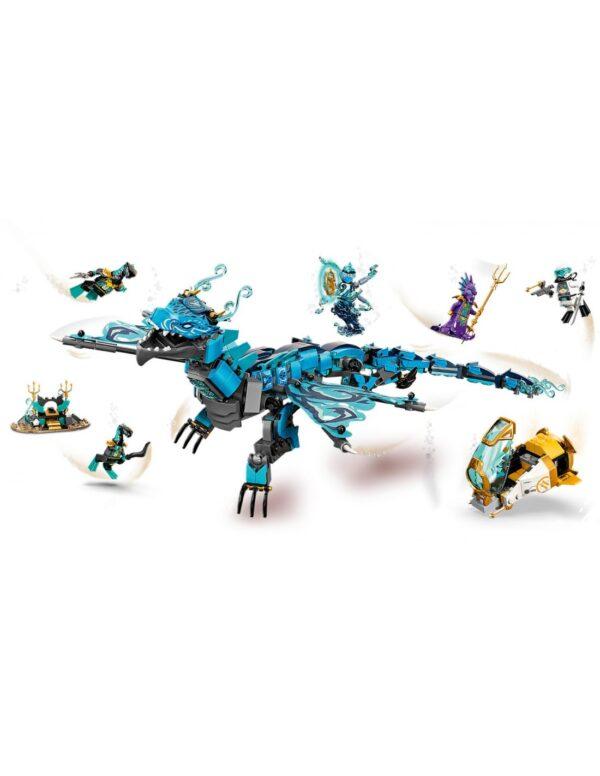 LEGO, Lego Ninjago  Lego Ninjago Δράκος του Νερού  71754 Αγόρι 12 ετών +, 7-12 ετών