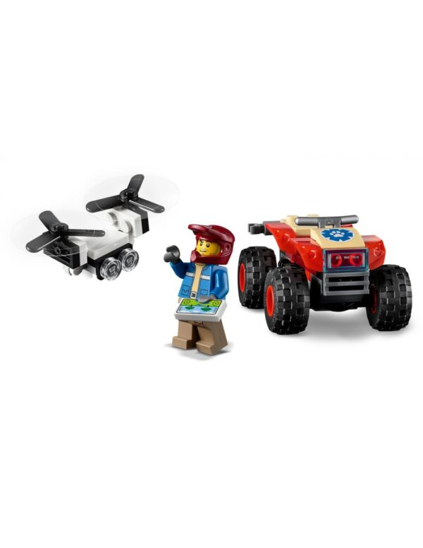 LEGO, Lego City Αγόρι 5-7 ετών, 7-12 ετών Lego City Wildlife ATV Διάσωσης Άγριων Ζώων  60300