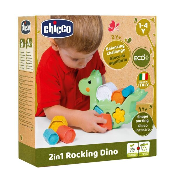 Chicco ECO+ Σειρά Δεινόσαυρος Ισορροπίας Y02-10499-10 Chicco 12-24 μηνών, 6-12 μηνών Αγόρι, Κορίτσι