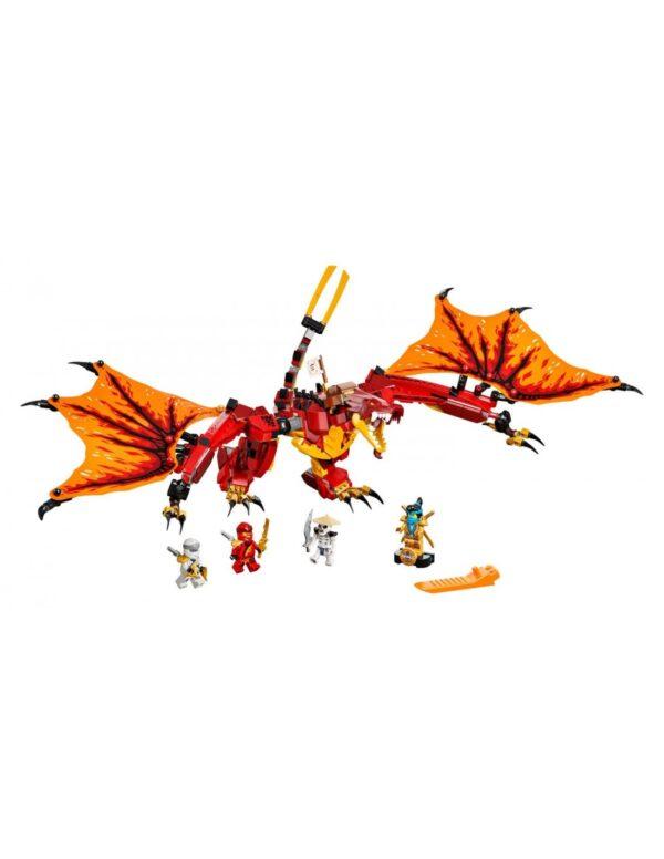 Lego Ninjago Επίθεση του Δράκου της Φωτιάς  71753  Αγόρι 12 ετών +, 7-12 ετών LEGO, Lego Ninjago