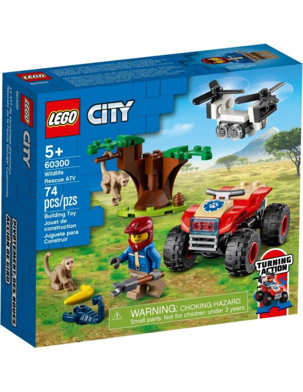 Lego City Wildlife ATV Διάσωσης Άγριων Ζώων  60300 LEGO, Lego City Αγόρι 5-7 ετών, 7-12 ετών