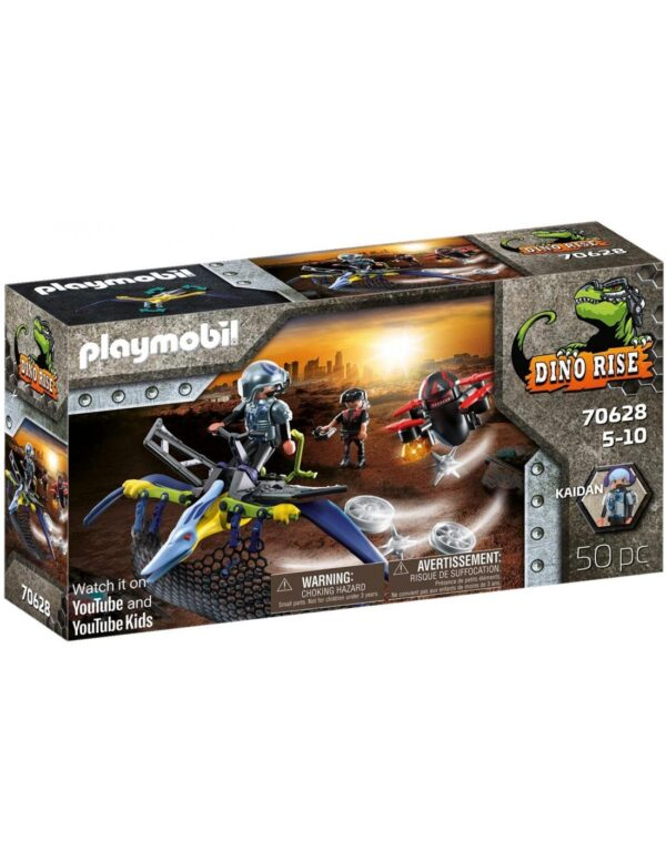 Playmobil Dino Rise Πτεροδάκτυλος και μαχητές με drone 70628 Playmobil, Playmobil Dino Rise Αγόρι 4-5 ετών, 5-7 ετών, 7-12 ετών