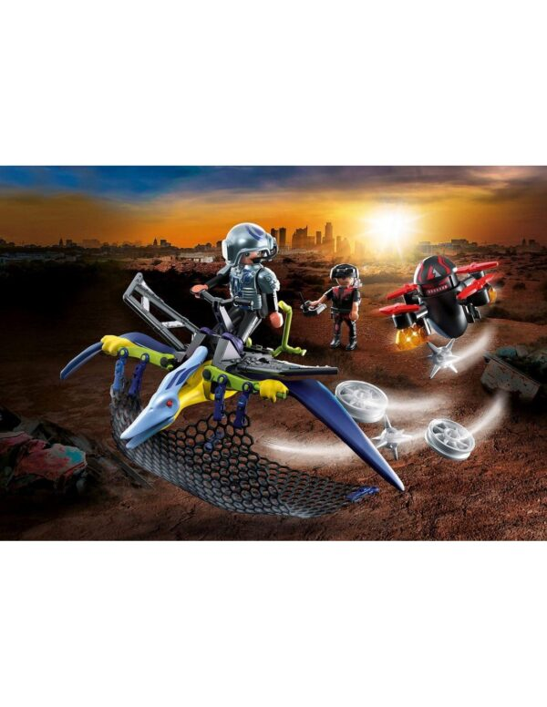 Playmobil, Playmobil Dino Rise  Playmobil Dino Rise Πτεροδάκτυλος και μαχητές με drone 70628 Αγόρι 4-5 ετών, 5-7 ετών, 7-12 ετών