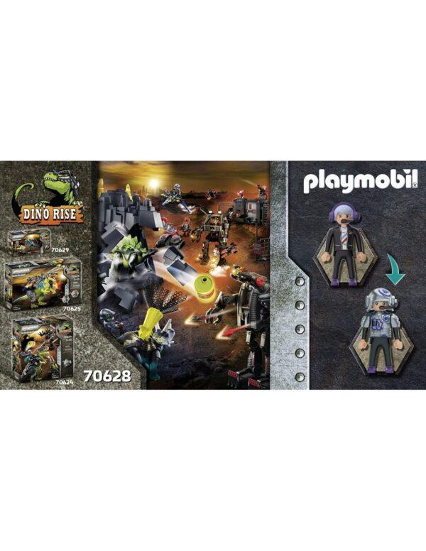 Playmobil, Playmobil Dino Rise Αγόρι 4-5 ετών, 5-7 ετών, 7-12 ετών Playmobil Dino Rise Πτεροδάκτυλος και μαχητές με drone 70628