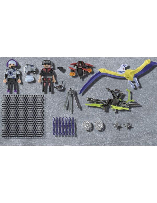 Playmobil Dino Rise Πτεροδάκτυλος και μαχητές με drone 70628 Αγόρι 4-5 ετών, 5-7 ετών, 7-12 ετών  Playmobil, Playmobil Dino Rise