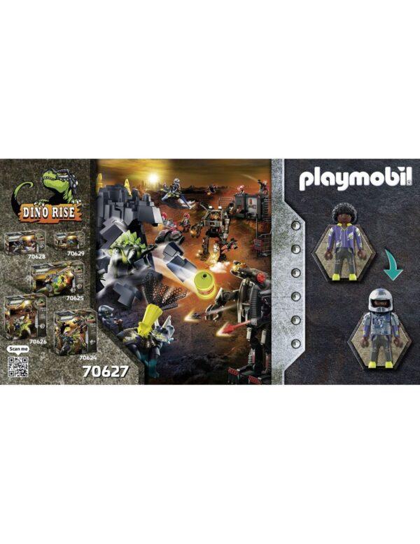 Playmobil, Playmobil Dino Rise Αγόρι 4-5 ετών, 5-7 ετών, 7-12 ετών Playmobil Dino Rise Τρικεράτωψ με πανοπλία-κανόνι και μαχητές 70627