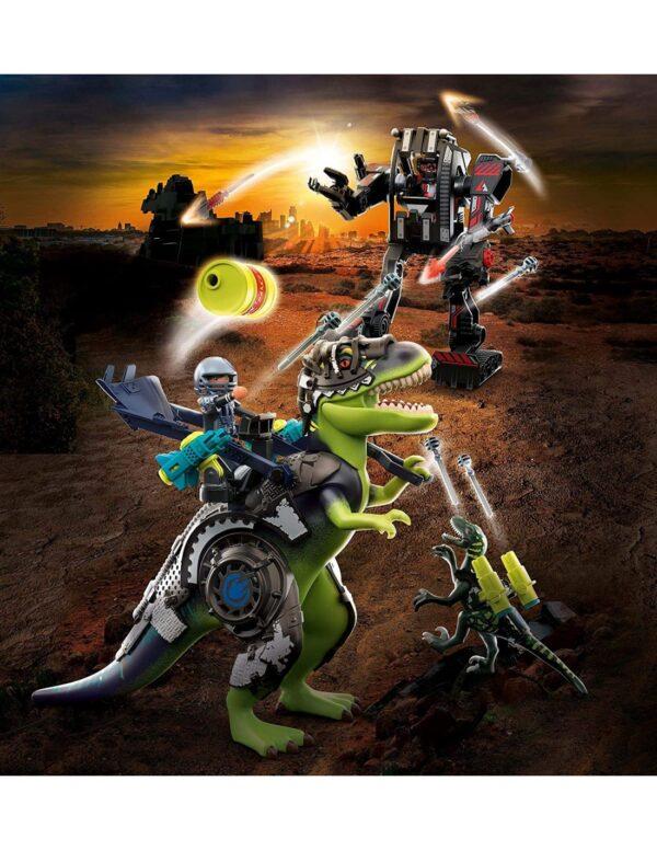 Playmobil, Playmobil Dino Rise  Playmobil Dino Rise T-Rex: Η Μάχη Των Γιγάντων 70624 Αγόρι 4-5 ετών, 5-7 ετών, 7-12 ετών