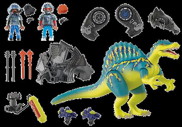 Playmobil Dino Rise Σπινόσαυρος με διπλή πανοπλία 70625  Αγόρι 4-5 ετών, 5-7 ετών, 7-12 ετών Playmobil, Playmobil Dino Rise