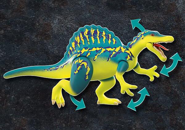 Playmobil, Playmobil Dino Rise  Playmobil Dino Rise Σπινόσαυρος με διπλή πανοπλία 70625 Αγόρι 4-5 ετών, 5-7 ετών, 7-12 ετών