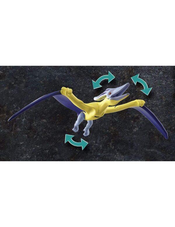 Playmobil Dino Rise Πτεροδάκτυλος και μαχητές με drone 70628 4-5 ετών, 5-7 ετών, 7-12 ετών Αγόρι Playmobil, Playmobil Dino Rise