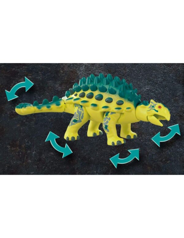 Playmobil Αγκυλόσαυρος με μαχητή εναντίον ρομπότ 70626 Αγόρι 4-5 ετών, 5-7 ετών, 7-12 ετών  Playmobil, Playmobil Dino Rise